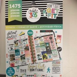 Create 365 Fitness Sticker Book